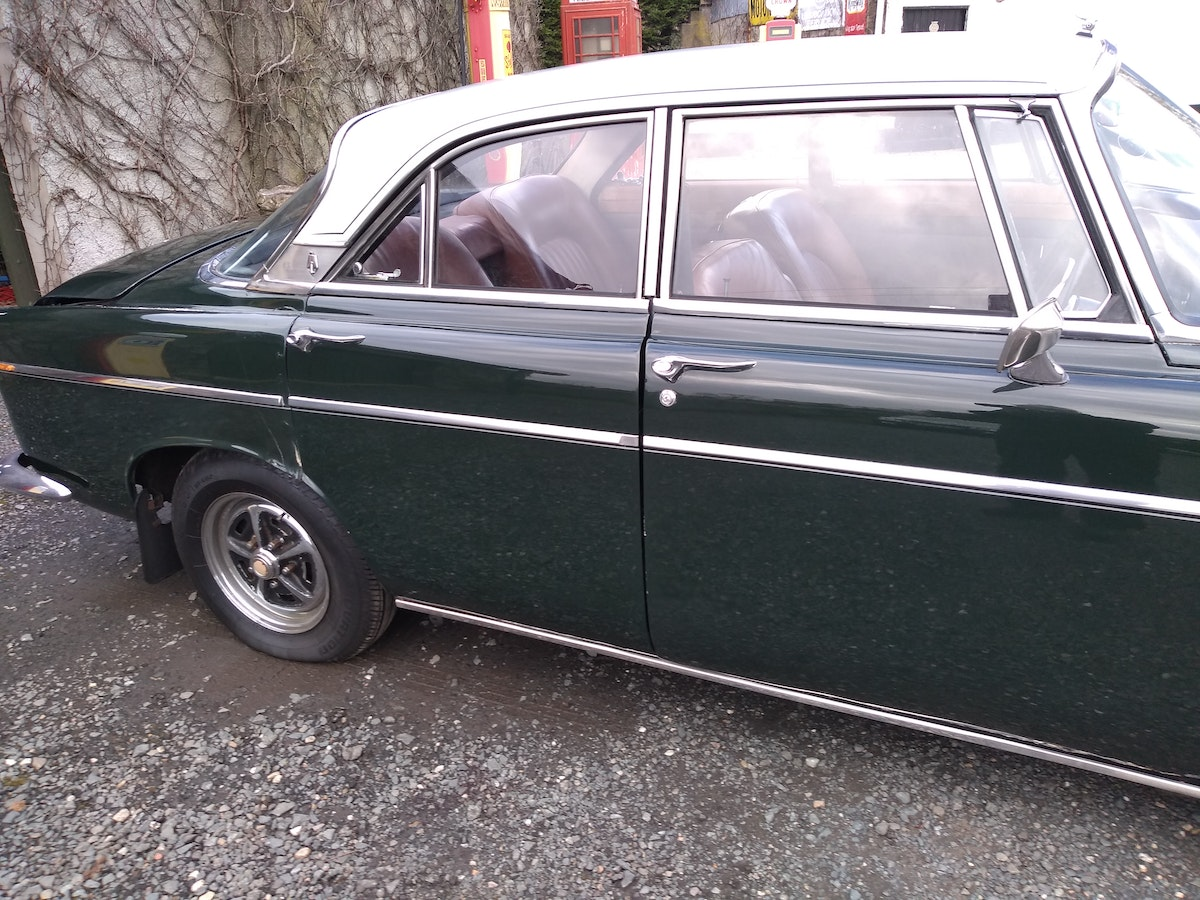 1972 Rover P5B Coupe 3.5L V8 For Sale (picture 3 of 12)