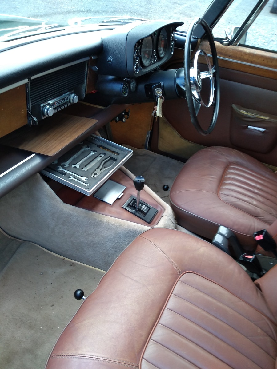 1972 Rover P5B Coupe 3.5L V8 For Sale (picture 9 of 12)