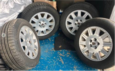 """Picture of 2000 Rover 75 set of 4 15"""" Alloys For Sale"""