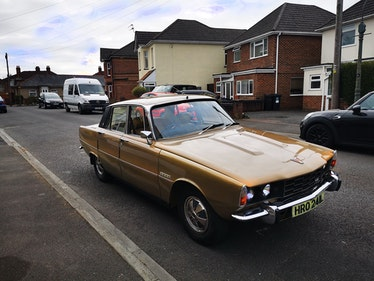 Picture of 1972 Rover P6 3500 Auto - To be auctioned 30-07-21 For Sale by Auction