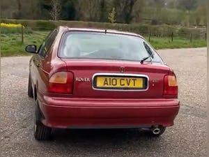 Outstanding Show Quality 1995 Rover 416i Hatchback For Sale (picture 3 of 10)