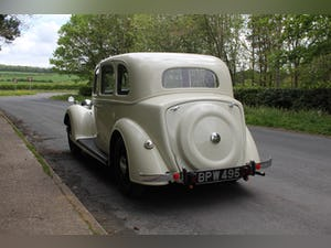 1937 Rover P2 16 Saloon For Sale (picture 4 of 19)