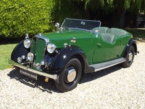 1947 Rover P2 Twelve HP Tourer Beautiful Example For Sale (picture 1 of 30)