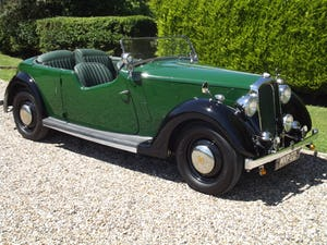 1947 Rover P2 Twelve HP Tourer Beautiful Example For Sale (picture 2 of 30)