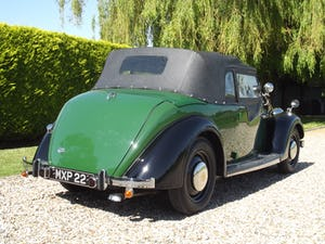 1947 Rover P2 Twelve HP Tourer Beautiful Example For Sale (picture 9 of 30)