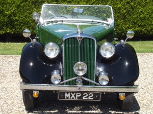 1947 Rover P2 Twelve HP Tourer Beautiful Example For Sale (picture 13 of 30)