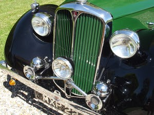 1947 Rover P2 Twelve HP Tourer Beautiful Example For Sale (picture 15 of 30)