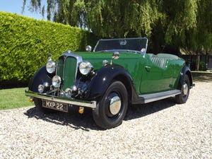 1947 Rover P2 Twelve HP Tourer Beautiful Example For Sale (picture 21 of 30)