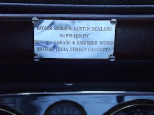 1947 Rover P2 Twelve HP Tourer Beautiful Example For Sale (picture 30 of 30)