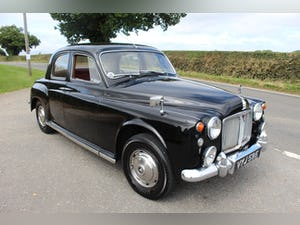 1962 Rover P4 80 With Overdrive Excellent Condition For Sale (picture 1 of 15)