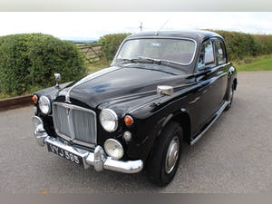 1962 Rover P4 80 With Overdrive Excellent Condition For Sale (picture 7 of 15)