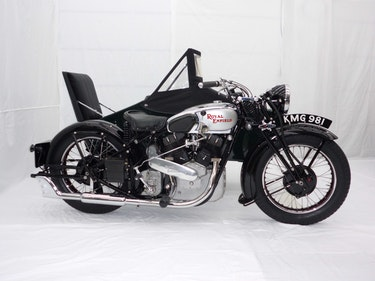 Picture of 1938 Royal enfield kx 1140cc sidecar combination For Sale