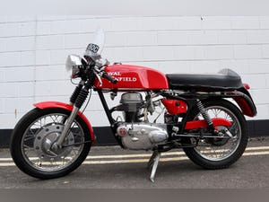 1965 Royal Enfield Continental GT 250cc - Excellent Original For Sale (picture 2 of 20)
