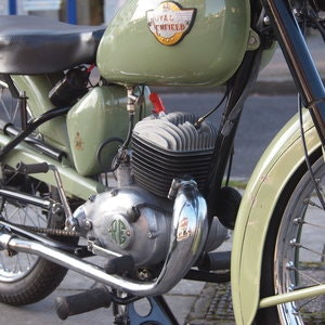 Picture of 1956 Royal Enfield Ensign 150cc Two Stroke Single.  SOLD
