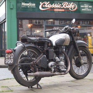 Picture of 1949 Royal Enfield Model G 350cc Original & Unmolested. SOLD