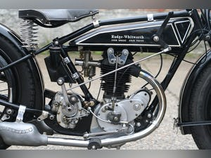 Rudge Special 1927 500cc OHV 4 Valve For Sale (picture 2 of 6)