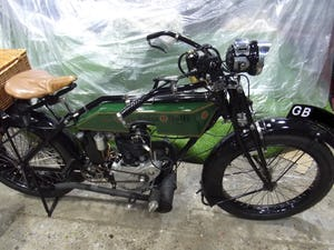 Rudge multi 500cc 1922 VETERAN VINTAGE CLASSIC MOTORCYCLE For Sale (picture 2 of 9)