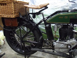 Rudge multi 500cc 1922 VETERAN VINTAGE CLASSIC MOTORCYCLE For Sale (picture 3 of 9)