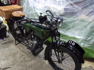 Rudge multi 500cc 1922 VETERAN VINTAGE CLASSIC MOTORCYCLE For Sale (picture 4 of 9)