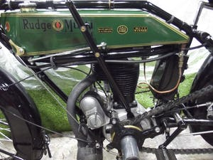 Rudge multi 500cc 1922 VETERAN VINTAGE CLASSIC MOTORCYCLE For Sale (picture 8 of 9)