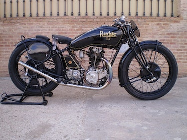 Picture of 1931 Rudge ttr 350 ohv radial head factory racer For Sale