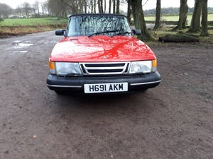 1990 Saab900i se16v convertible 1991 Imaculate full mot For Sale (picture 4 of 6)