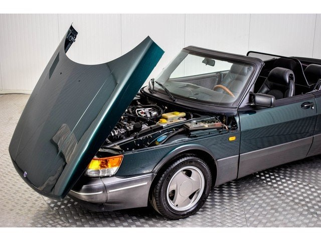 1993 Saab 900 Classic Convertible Turbo For Sale (picture 4 of 6)