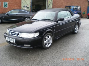 2001 Saab 9-3 SE Turbo Convertible For Sale (picture 2 of 6)