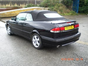 2001 Saab 9-3 SE Turbo Convertible For Sale (picture 3 of 6)