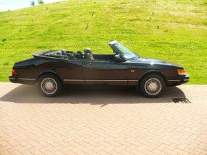 saab 900 i classic auto convertible 1990 For Sale (picture 1 of 6)