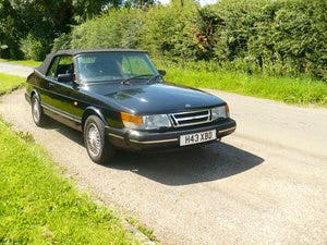 saab 900 i classic auto convertible 1990 For Sale (picture 2 of 6)