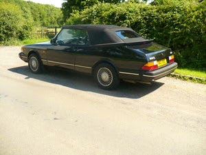 saab 900 i classic auto convertible 1990 For Sale (picture 3 of 6)