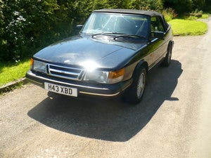 saab 900 i classic auto convertible 1990 For Sale (picture 4 of 6)