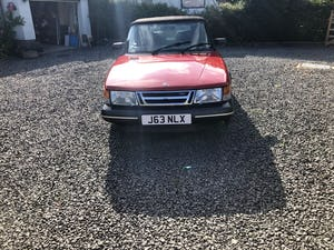 1992 Saab 900 classic t16s  full pressure turbo For Sale (picture 3 of 5)