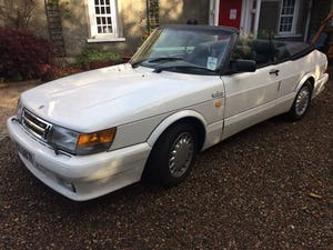 1988 SAAB 900 Turbo 16 Convertible Airflow For Sale (picture 4 of 12)