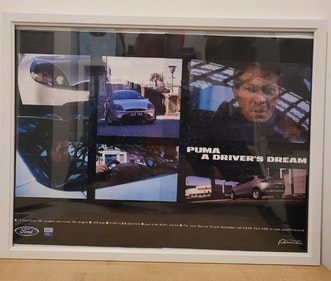 Picture of 1981 Original 1997 Ford Puma Framed Advert For Sale
