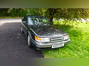 1993 Saab 900S CLASSIC CONVERTIBLE SOLD (picture 1 of 7)