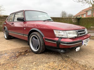 1993 SAAB 900 turbo 16S ruby edition 3 door For Sale (picture 1 of 28)