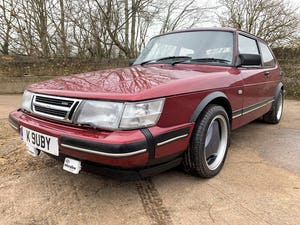 1993 SAAB 900 turbo 16S ruby edition 3 door For Sale (picture 2 of 28)