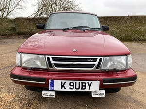 1993 SAAB 900 turbo 16S ruby edition 3 door For Sale (picture 10 of 28)