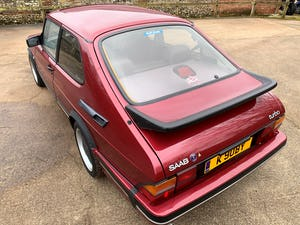 1993 SAAB 900 turbo 16S ruby edition 3 door For Sale (picture 19 of 28)