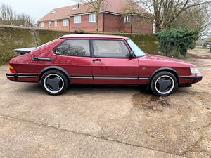 1993 SAAB 900 turbo 16S ruby edition 3 door For Sale (picture 23 of 28)