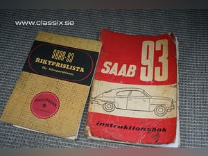 1960 SAAB 93 F in top condition For Sale (picture 13 of 30)
