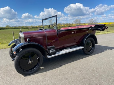 Picture of 1928 Singer Junior Four Seat Tourer. For Sale