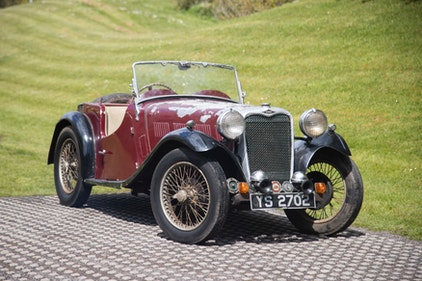 Picture of 1935 Singer Nine Le Mans Speed Special Model For Sale by Auction