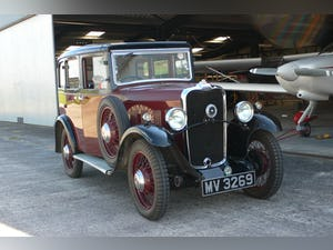 1932 Singer Junior Six Light Saloon For Sale (picture 1 of 10)