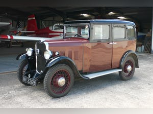 1932 Singer Junior Six Light Saloon For Sale (picture 2 of 10)
