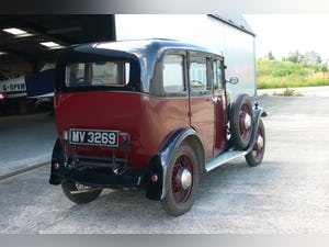 1932 Singer Junior Six Light Saloon For Sale (picture 5 of 10)