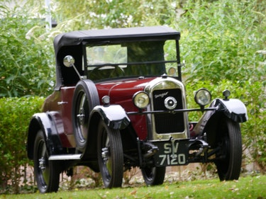 Picture of 1930 Singer Junior Doctors Coupe with Dickey Seat For Sale