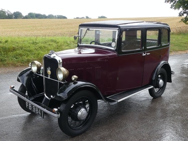 Picture of 1932 Singer Nine Saloon For Sale